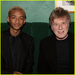 Jaden Smith Gets Honored By Robert Redford