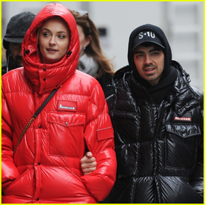 Joe Jonas Spends the Day in NYC with Fiancee Sophie Turner!