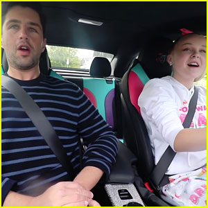 JoJo Siwa Takes Josh Peck For A Ride In Her D.R.E.A.M. Car!