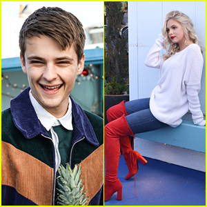 jordyn jones corey fogelmanis celebrate a succesful year with