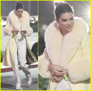Kendall Jenner Heads to a Concert with Friends!