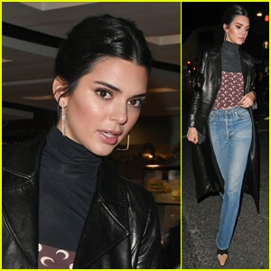 Kendall Jenner Heads to McDonald's After Fashion Awards 2018!