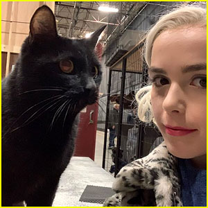 Kiernan Shipka Wraps Filming for 'Chilling Adventures of Sabrina!'