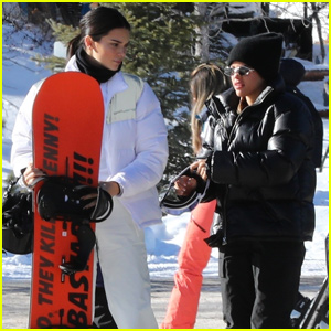 Kendall Jenner & Sofia Richie Hit the Slopes Together