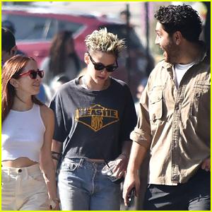 Kristen Stewart Is Ringing in the Holidays with Rumored Girlfriend Sara Dinkin!