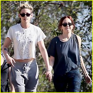 Kristen Stewart Kicks Off Holiday Weekend by Hiking with Rumored Girlfriend Sara Dinkin!