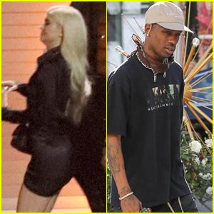 Kylie Jenner Stops By Travis Scott's Concert in LA!