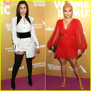Lauren Jauregui & Hayley Kiyoko Step Out in Style for Billboard's Women in Music 2018!