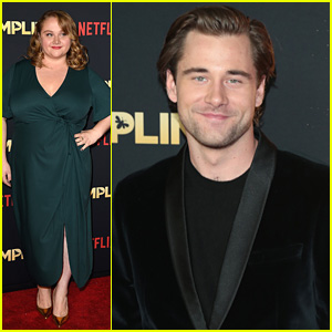 Luke Benward Will Make Your Heart Flutter At The Premiere of His New Movie, 'Dumplin'