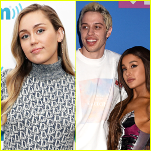 Miley Cyrus Spills on What She Said to Ariana Grande After Pete Davidson Split