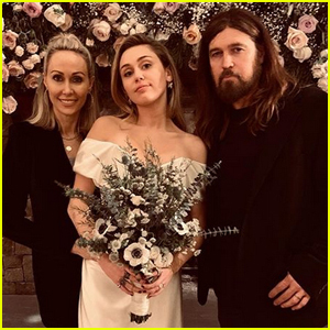Miley Cyrus Shares New Photos with Her Parents at Her Wedding!