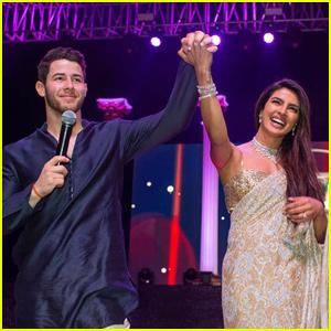 Nick Jonas & Priyanka Chopra Host Song & Dance Competition As Part of Wedding Festivities!