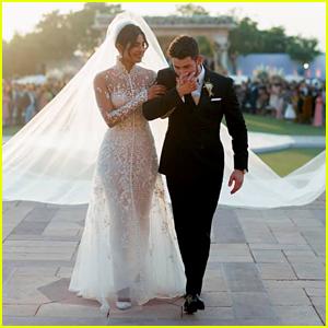 Priyanka Chopra & Nick Jonas Make Perfect Bride & Groom in Wedding Pics!
