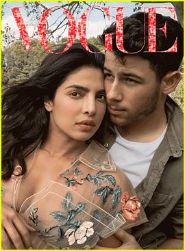 Nick Jonas Covers 'Vogue' with New Wife Priyanka Chopra!