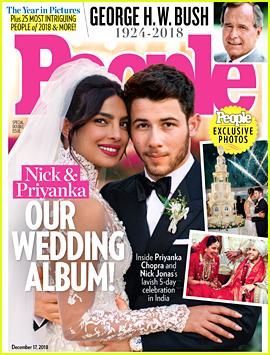 Nick Jonas & Priyanka Chopra Debut Wedding Picture!