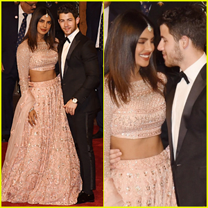 Nick Jonas & Priyanka Chopra Attend Wedding in Mumbai