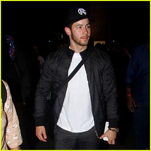 Nick Jonas Returns to New York After Marrying Priyanka Chopra in India!