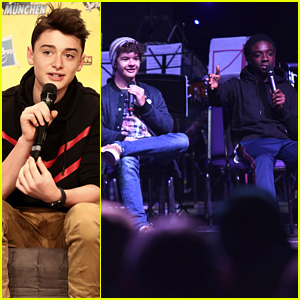 Noah Schnapp, Gaten Matarazzo & Caleb McLaughlin Hit Up Fan Conventions to Tease 'Stranger Things' Season 3