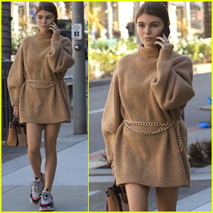Olivia Jade Gets in Some Last Minute Christmas Shopping