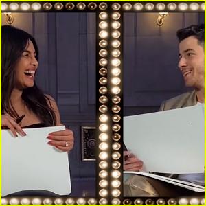 Nick Jonas Tells Priyanka Chopra She's 'Perfect' During the Newlywed Game