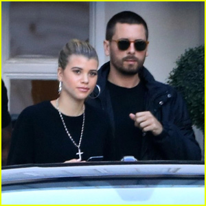 Sofia Richie & Scott Disick Spend the Day in Beverly Hills