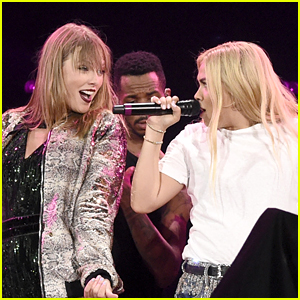 Taylor Swift Makes Surprise Appearance at Ally Coalition Talent Show With Hayley Kiyoko!