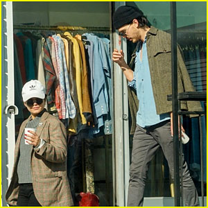Vanessa Hudgens & Austin Butler Couple Up for Breakfast Date