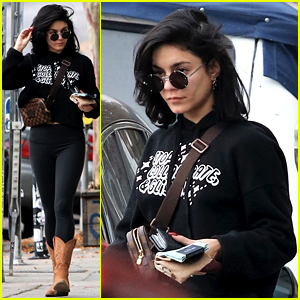 Vanessa Hudgens Goes Casual for Holiday Errands