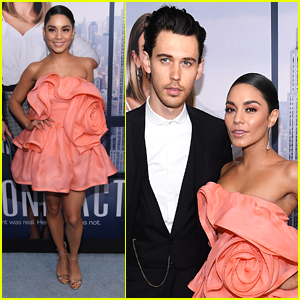 Vanessa Hudgens Cozies Up to Austin Butler at 'Second Act' Premiere!