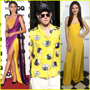 Zendaya, Victoria Justice, KJ Apa & More Celebs LOVED Wearing Yellow This Year