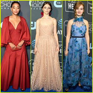 Amandla Stenberg Joins Fellow Young Actor/Actress Nominees at Critics' Choice Awards 2019