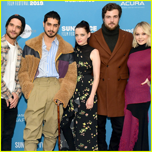 Avan Jogia Joins His 'Now Apocalypse' Co-Stars at Sundance 2019!