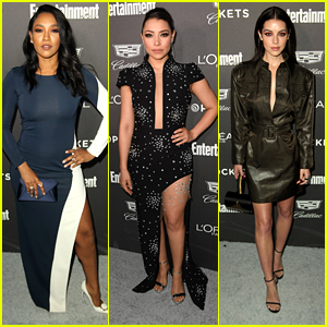 Candice Patton & Adelaide Kane Bring Their Style A Game to EW's SAG Nominees Party