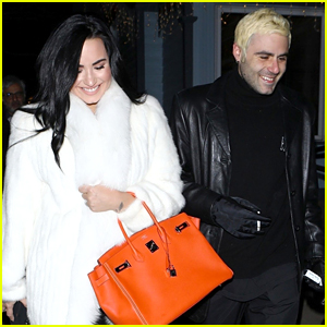 Demi Lovato Looks So Happy with Henry Levy!