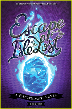 See The Cover For The Newest 'Descendants' Book 'Escape From The Isle Of The Lost' by Melissa de La Cruz! (Exclusive)