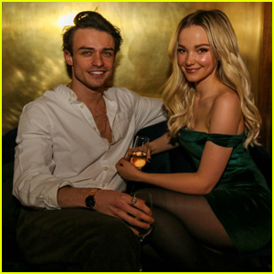 Dove Cameron & Thomas Doherty Celebrate Her 23rd Birthday in NYC!