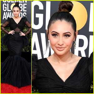 Francia Raisa Completely Stuns at Golden Globes 2019