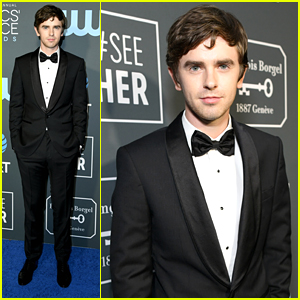 Freddie Highmore Steps Out Sharp For Critics' Choice Awards 2019
