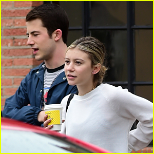 Genevieve Hannelius Runs Into Dylan Minnette After A Workout in LA