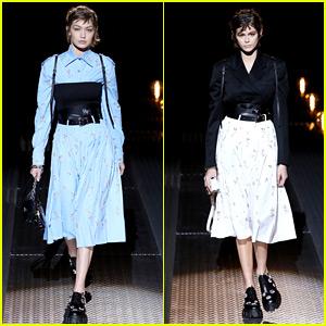 Gigi Hadid's Fashion Dreams Keep Coming True Thanks to Prada!