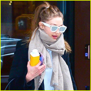 Gigi Hadid Kicks Off Her Day with a Morning Meeting