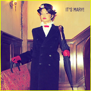 Gigi Hadid Is 'Practically Perfect' as Mary Poppins on New Year's Eve!