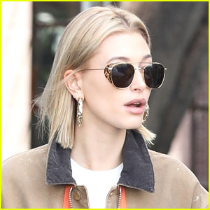 Hailey Bieber Is Blonde Again After a Stop at the Salon!