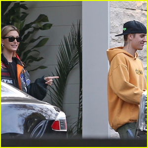 Hailey & Justin Bieber Spend the Day Checking Out Houses!