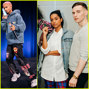 Jaden Smith, Lilly Singh, & Adam Rippon Join Forces at WeWork Global Summit