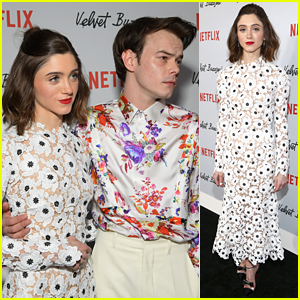 Natalia Dyer & Charlie Heaton Couple Up for 'Velvet Buzzsaw' LA Premiere!