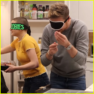 Joey King Took The Bird Box Challenge With Cameron Fuller - Watch
