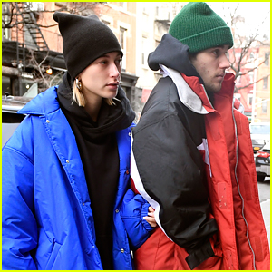 Justin & Hailey Bieber Step Out for NYC Lunch Date