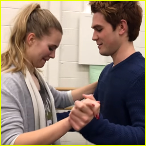 KJ Apa Waltzes With Tiera Skovbye in Throwback Video - Watch Here!