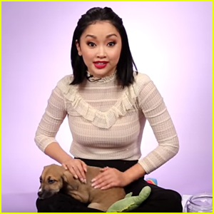 See The Moment Lana Condor Met Her New Puppy Emmy (Video)